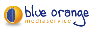 blue orange mediaservice